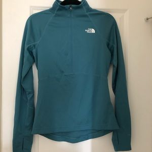 North Face 1/4 Zip Pullover Size Small